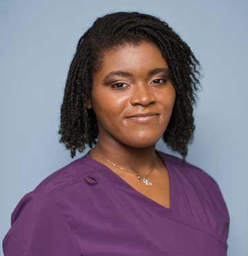 Kalais Kelly, Medical Receptionist